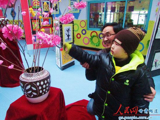 永靖县太极幼儿园举行迎新年美工作品展【4】