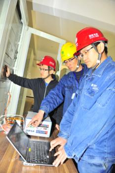 该变电站是国网第二批智能变电站试点项目,于2012年12月开始建设,经