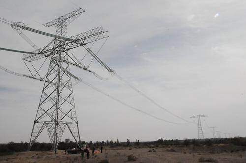 甘肃省最高电压等级直流输电线路停电检修工作有序