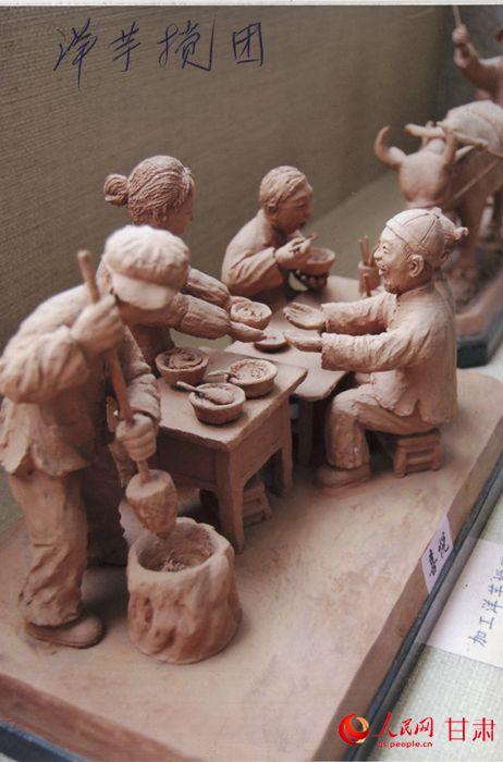 李国柱泥塑作品欣赏图片