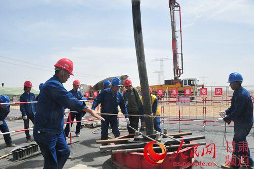 标志著昌吉-古泉±1100千伏特高压直流输电
