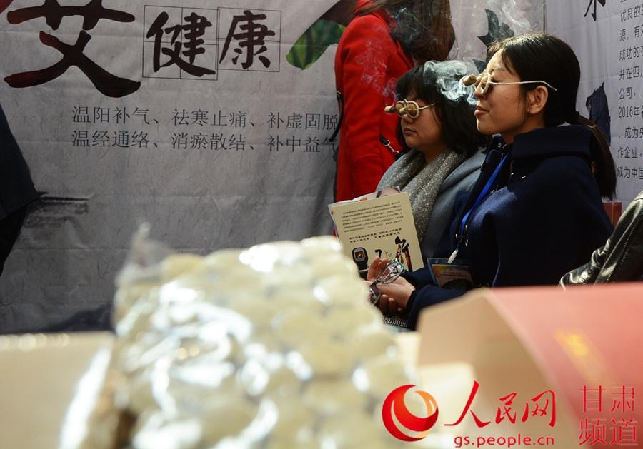 春季)兰州国际美妆产业博览会在甘肃国际会展中心开幕.据悉,本图片
