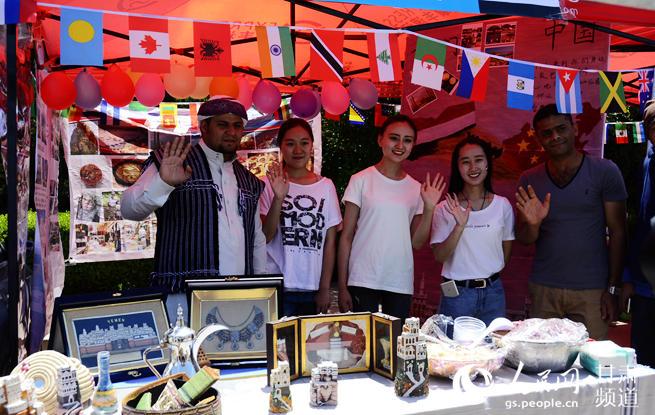 西北师大世界各国文化风情展展多元文化魅力