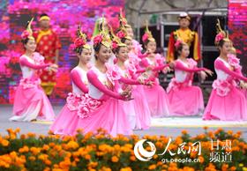 兰州百合文化旅游节开幕