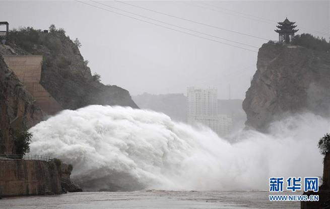 黄河刘家峡水库排沙泄洪
