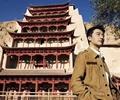 """黄轩代言甘肃旅游宣传片        """"丰收了·游甘肃""""新闻发布会在京举行,甘肃推出四大系列旅游套餐。"""