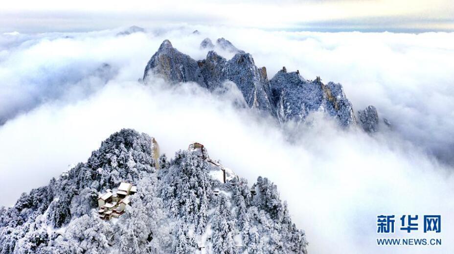 雪后华山 冬日画境
