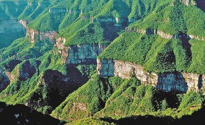 这项大工程改变了太行山        25年来,工程区森林覆盖率由11%提高到22.4%,森林质量显著提升。
