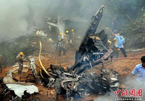 客机失事后,中国驻印度大使馆与当地内阁部取得联系