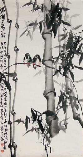 应澳洲南天寺之邀,甘肃省著名画家赵录平画展在澳洲南天寺海会堂和