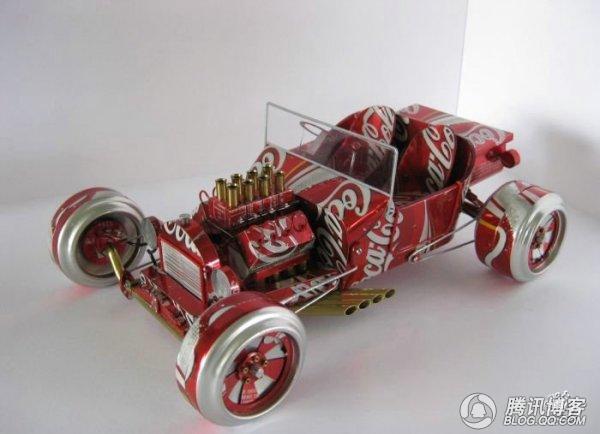 创新 易拉罐创意小汽车