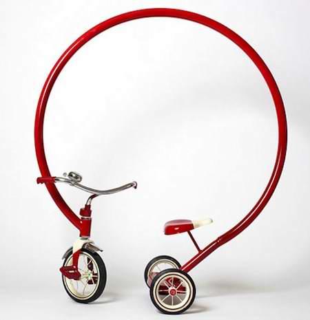 【新奇特小发明】卡通自行车