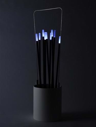 【创意小发明】烧香照明灯