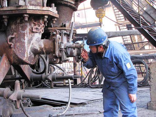 炼铁厂5号高炉作业区加强内部管理